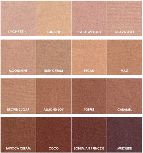 16 Shades of Nude