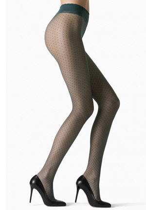 Fogal Annabelle Dots Tights