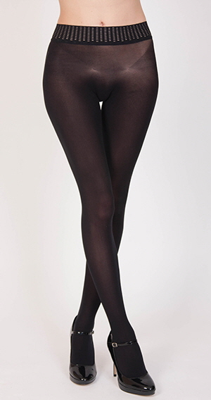 Leigh Models Wolford Fatal 50 Tights_2