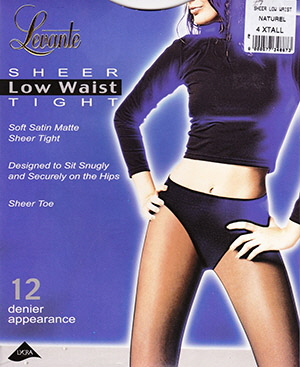 Levante Sheer Low Waist Tights