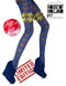 Pretty Polly House of Holland Blue Houndstooth Tights_2